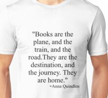 Books are home Unisex T-Shirt