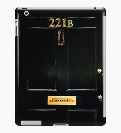 221B Door iPad Case/Skin
