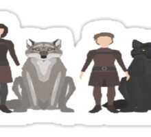 Game of Thrones Characters Sticker