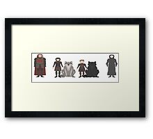 Game of Thrones Characters Framed Print