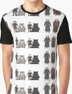 Game of Thrones Characters Graphic T-Shirt