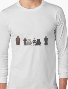 Game of Thrones Characters Long Sleeve T-Shirt