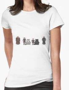 Game of Thrones Characters Womens Fitted T-Shirt