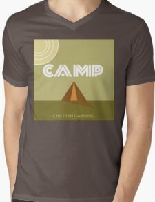 Camp Gambino Mens V-Neck T-Shirt