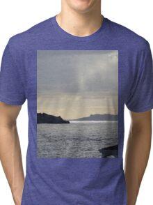 Rain over Pelican Key Tri-blend T-Shirt