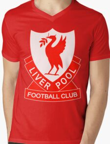 liverpool fc the red Mens V-Neck T-Shirt