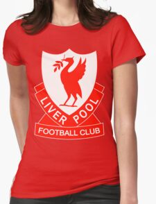 liverpool fc the red Womens Fitted T-Shirt