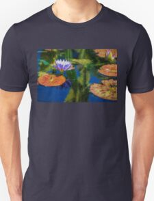 Autumn Lily Pad Impressions Unisex T-Shirt