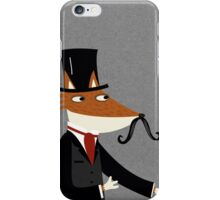 Sir Fox iPhone Case/Skin