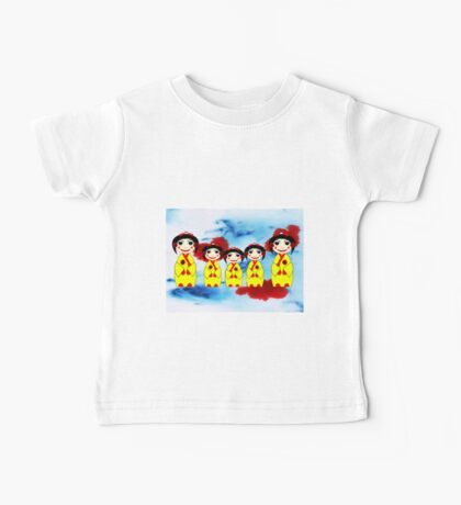 China Dolls - mugs, etc Baby Tee
