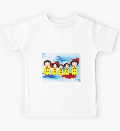 China Dolls - mugs, etc Kids Tee