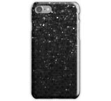 Black Crystal Bling Strass iPhone Case/Skin