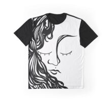 Woman with HairEyes Graphic T-Shirt
