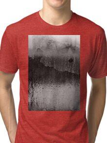 Shades of Gray- Abstract Tri-blend T-Shirt