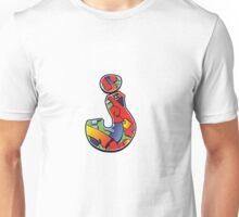 Letter j Color Unisex T-Shirt