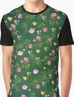 EMERALD & ROSE Graphic T-Shirt