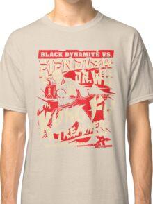 Black Dynamite vs. Fiendish Dr. Wu Classic T-Shirt