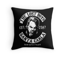 The Lost Boys Motorcycle Club Throw Pillow
