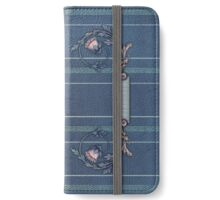 Blue Upholstery iPad iPhone Wallet/Case/Skin