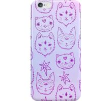 Pink Kitty Mystics iPhone Case/Skin