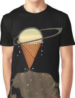 Melting system Saturn Graphic T-Shirt