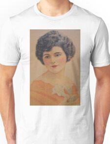 Vintage Picture-Beautiful Lady Unisex T-Shirt