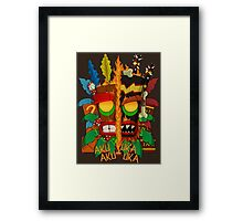 Tiki Framed Print