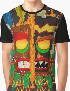 Tiki Graphic T-Shirt
