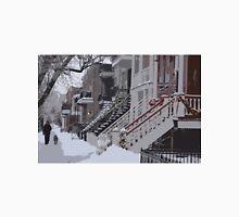 De Saint-Valliers Street in Winter (Montreal) Unisex T-Shirt