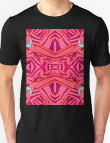 Mostly Pinks Geo Pattern Unisex T-Shirt