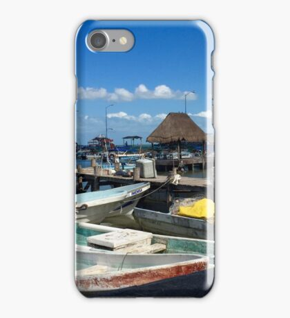 Motor boats iPhone Case/Skin