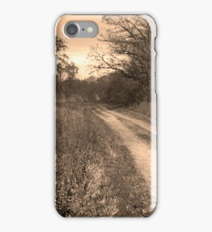 A Walk On The Trail  iPhone Case/Skin