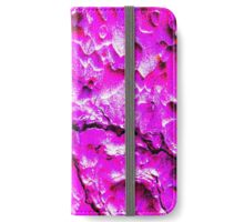 Ponderosa Bark Pink Camo by Locan iPhone Wallet/Case/Skin