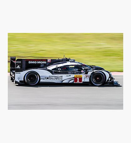Porsche Team No 1 Photographic Print