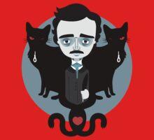 Edgar Allan Poe Kids Tee