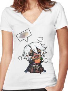 Niles Women's Fitted V-Neck T-Shirt