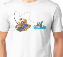 Bibarel Catching a Surprise! Unisex T-Shirt