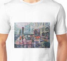 London Art - Red Bus Unisex T-Shirt