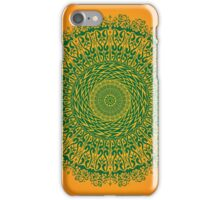 Animal mandala larger border iPhone Case/Skin