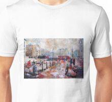 London Art - Trafalgar Square Lions Unisex T-Shirt