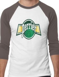 Haaaaaa, Perrier Men's Baseball ¾ T-Shirt