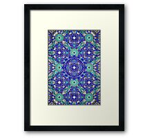 Blue Ribbon Framed Print