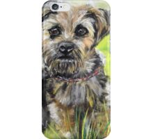 Little dog - Waiting for his ball iPhone Case/Skin