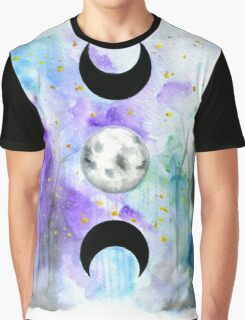 Full Moon Graphic T-Shirt