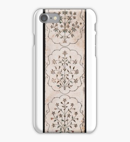 A Mughal pietra dura marble panel, India,  iPhone Case/Skin