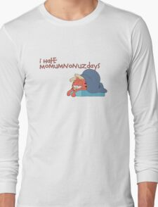 Rick and Morty: Gazorpazorpfield - I Hate  Momumnonuzdays Long Sleeve T-Shirt