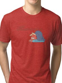 Rick and Morty: Gazorpazorpfield - I Hate  Momumnonuzdays Tri-blend T-Shirt