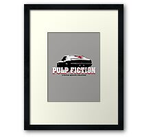 Pulp Fiction O Man I Shot Marvin In The Face Tshirt Framed Print