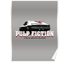 Pulp Fiction O Man I Shot Marvin In The Face Tshirt Poster