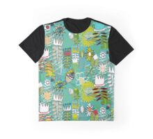 wired weed turquoise blue Graphic T-Shirt